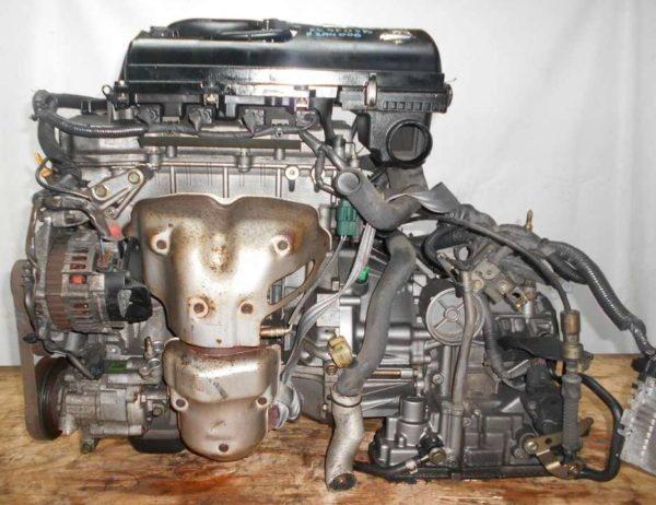 Двигатель Nissan CR14-DE - 294006 AT RE4F03B FF Z11 102 000 km коса+комп 1
