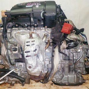 Двигатель Toyota 1KR-FE - 1410606 CVT FF KGC30 с щупом коса+комп 11