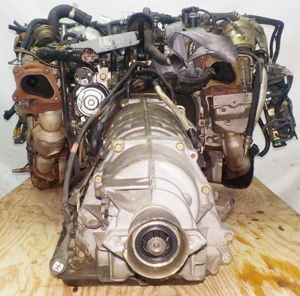 Двигатель Subaru EJ20-TT - B486342 AT TV1B4YBDAB 4WD BH5 EJ206DXDBE 153 967 km комп 5
