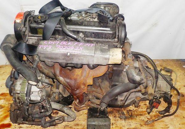 Двигатель Nissan CD17 - 702042X MT RS5F31A FF гидравлическая 2