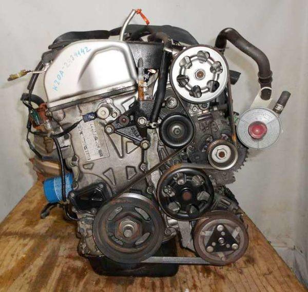 Двигатель Honda K20A - 2484142 AT MTJA FF RG1 100 500 km коса+комп 3