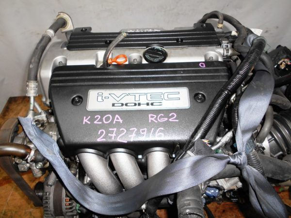 Двигатель Honda K20A - 2727916 AT MTKA FF 4WD RG2 2
