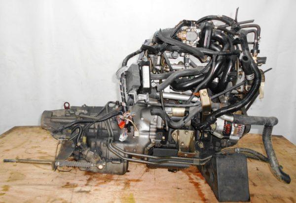 Двигатель Daihatsu EF-DET - 6479622 AT FR JBS5 J131G 98 000 km коса+комп 4