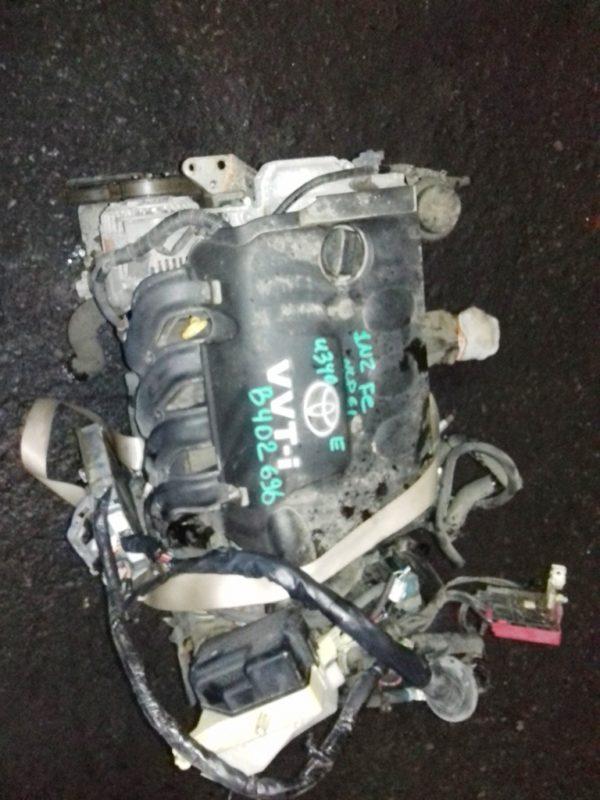 Двигатель Toyota 1NZ-FE - B402696 AT U340F FF 4WD NCP65 механический дроссель коса+комп 2