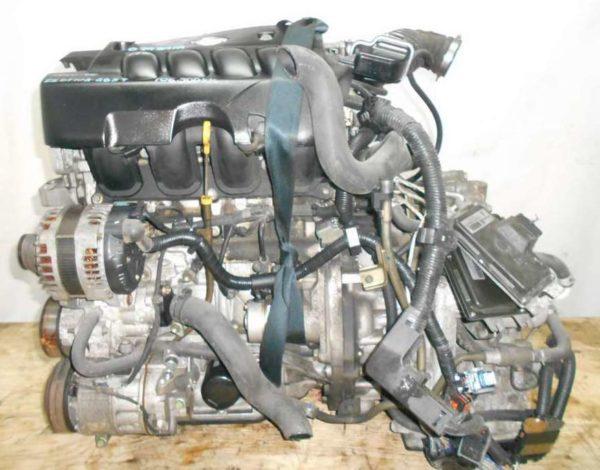 Двигатель Nissan MR20-DE - 079391A CVT RE0F10 GB57 FF C25 106 500 km коса+комп 1