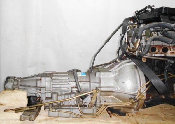 Двигатель Toyota 1G-FE - 6945701 AT 03-70LS A42DE-A05A FR GX110 BEAMS 108 000 km коса+комп 4