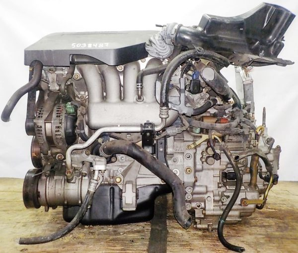 Двигатель Honda K24A - 5038487 AT MFHA FF Odyssey коса+комп 1