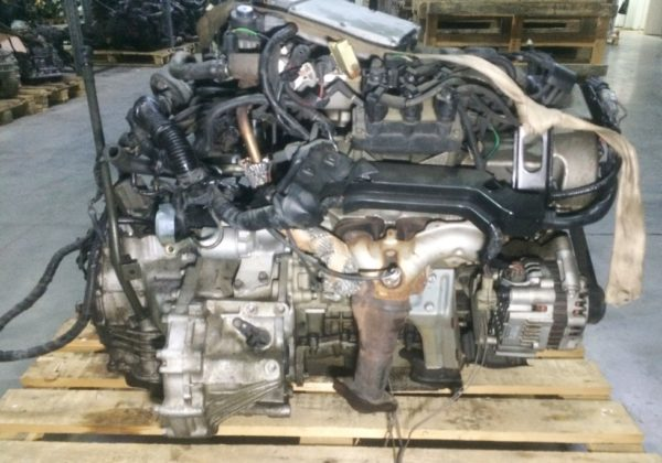 Двигатель Mazda GY - 233046 AT FF LW5W коса+комп 1
