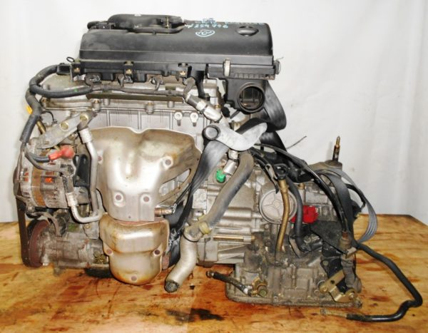 Двигатель Nissan CR12-DE - 354746 AT RE4F03B FF AK12 115 000 km коса+комп 1