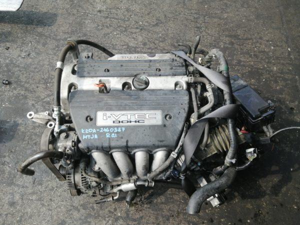 Двигатель Honda K20A - 2460337 AT MTJA FF RG1 158 000 km коса+комп 2
