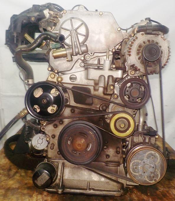 Двигатель Nissan QR20-DE - 173620A CVT FF TC24 брак корпуса генератора без КПП 4