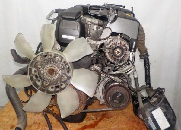 Двигатель Toyota 1G-FE - 6975201 AT 03-70LS A42DE-A05A FR GX110 BEAMS 160 000 km коса+комп 4