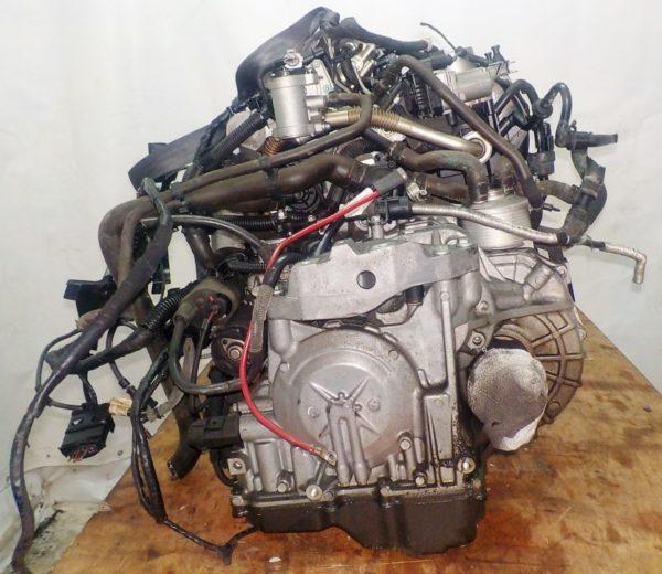 Двигатель Volkswagen BLF - 079660 AT FF WWWZZZ1K25W197305 90 000 km коса+комп 5