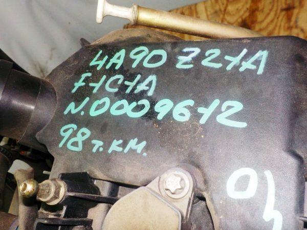 Двигатель Mitsubishi 4A90 - 0009612 CVT F1C1A FF Z21A 98 000 km коса+комп 3