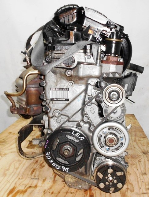 Двигатель Honda LEA - 3036096 CVT SD5A FF GP3 98 000 km коса+комп 3