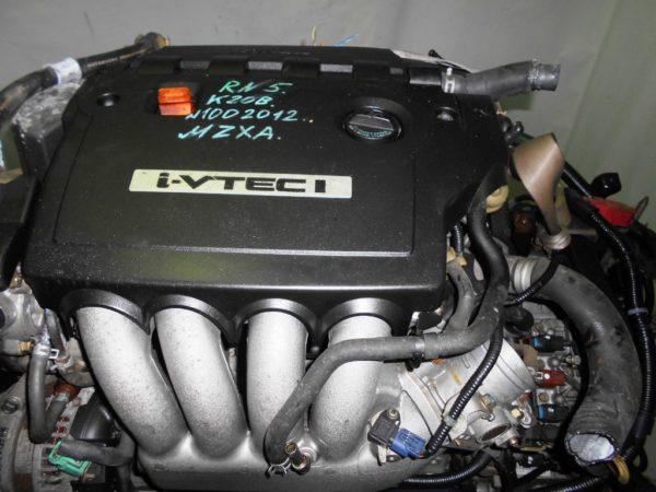Двигатель Honda K20B - 1002012 CVT MZXA FF RN5 коса+комп 6