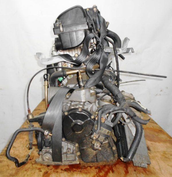 Двигатель Nissan CR12-DE - 354746 AT RE4F03B FF AK12 115 000 km коса+комп 5