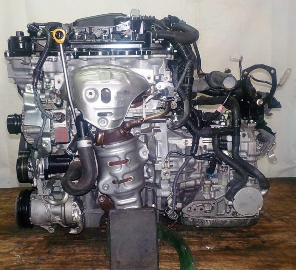 Двигатель Toyota 1NR-FE - 8288770 CVT K411-01A FF NSP120 коса+комп 1