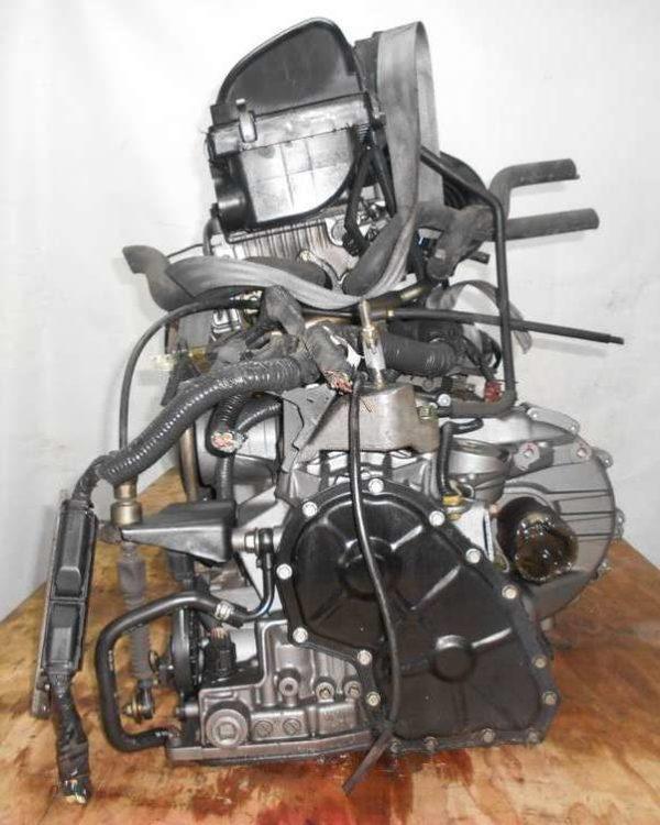Двигатель Nissan CR14-DE - 294006 AT RE4F03B FF Z11 102 000 km коса+комп 5