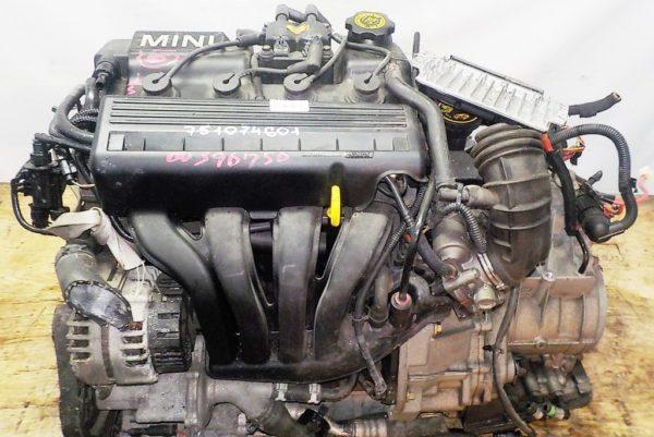 Двигатель BMW W10B16D - 751074601 AT FF 03′ коса+комп 2