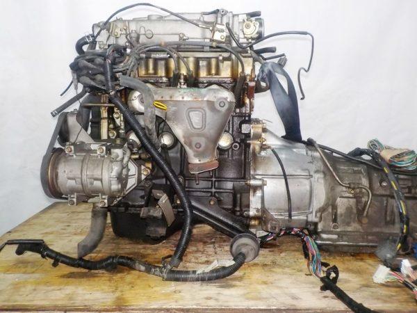 Двигатель Mazda FE - 989417 AT FR SGEW 159 000 km коса+комп 1