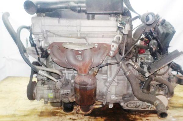 Двигатель Suzuki K12B - 1021011 CVT FF ZC71S 96 527km коса+комп 1