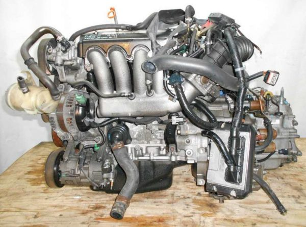 Двигатель Honda K20A - 2484142 AT MTJA FF RG1 100 500 km коса+комп 1