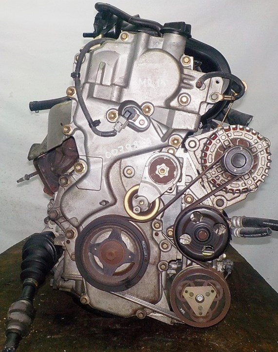Двигатель Nissan MR18-DE - 007984A CVT RE0F08A FF коса+комп 3