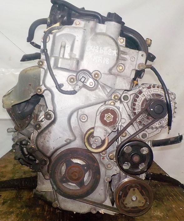 Двигатель Nissan MR18-DE - 042662A CVT RE0F08A FF коса+комп 3