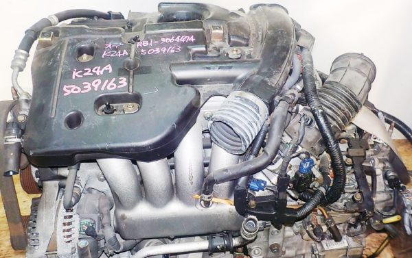 Двигатель Honda K24A - 5039163 AT MFHA FF RB1 коса+комп 2