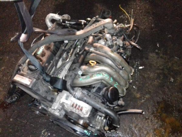 Двигатель Volkswagen AZM - 097352 AT FF Passat 119 000 km коса+комп 3