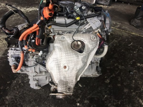 Двигатель Toyota 1NZ-FXE - 6676403 AT P510-01A FF NHP10 коса+комп 4