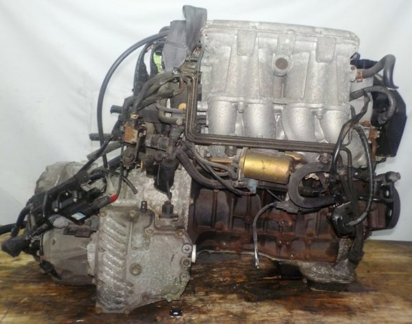 Двигатель Toyota 3S-GE - 9294388 AT FF ST202 трамблер коса+комп 5