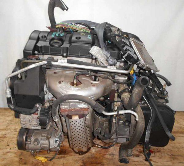 Двигатель Peugeot PSA - 02535550 206 AT FF 10FX7E 98 000 km коса+комп 3