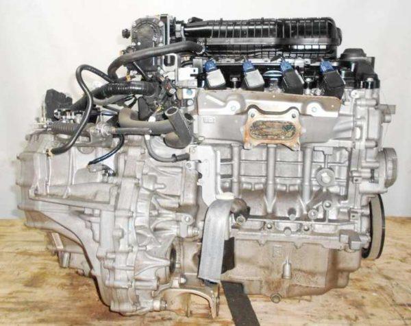 Двигатель Honda L13A - 4472983 CVT SE5A FF GE6 106 000 km коса+комп, нет выпускного коллектора 4