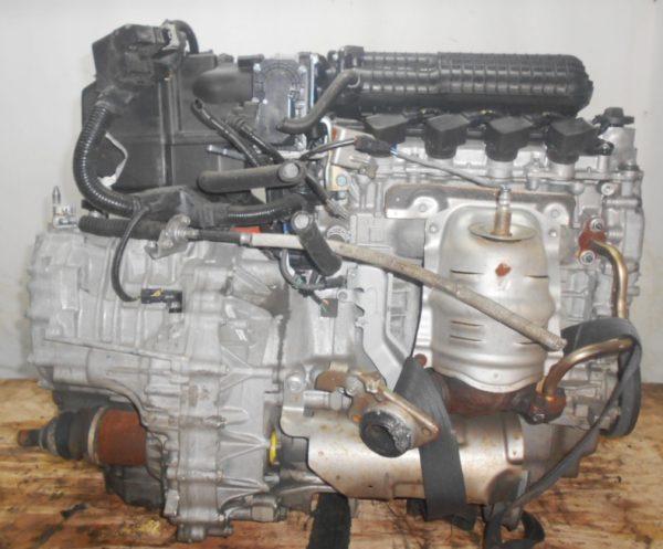 Двигатель Honda LDA - 2014398 CVT SBLA FF ZE2 коса+комп 3