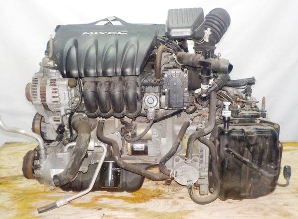 Двигатель Mitsubishi 4A90 - 0002754 CVT F1C1A FF Z21A 67 000 km коса+комп 1