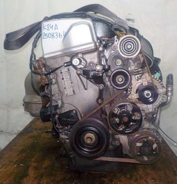 Двигатель Honda K24A - 2508364 AT MGTA FF Accord коса 5