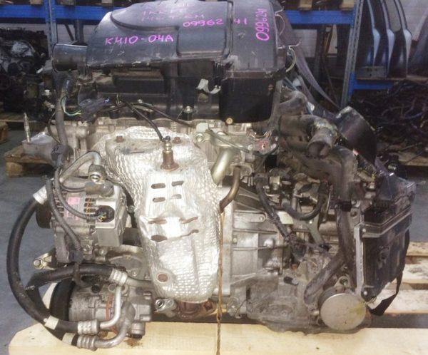 Двигатель Toyota 1KR-FE - 0996241 AT K410-04A FF KCP90 146 000 km коса+комп 1