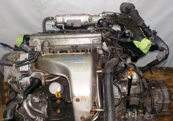 Двигатель Toyota 5S-FE - 1060839 AT A541F FF 4WD Gracia коса+комп 2