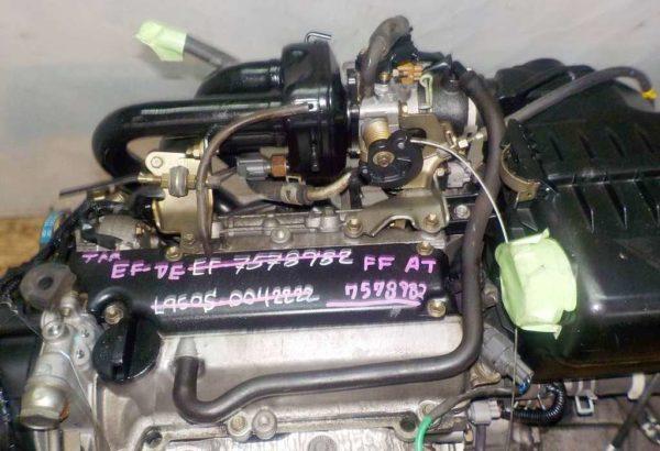 Двигатель Daihatsu EF-VE - 7578982 AT FF комп 2