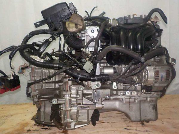 Двигатель Suzuki K12B - 1258476 CVT FF ZC71S коса+комп 4