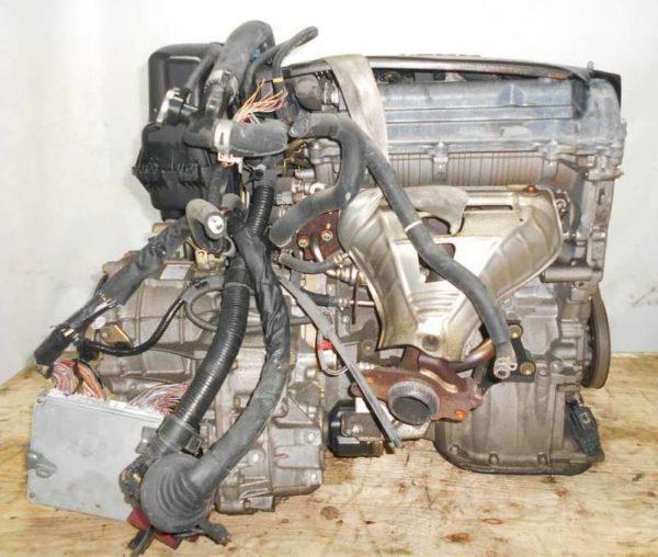 Двигатель Toyota 1NZ-FE - B362674 CVT K210-02A FF NCP81 137 000 km электро дроссель коса+комп 4