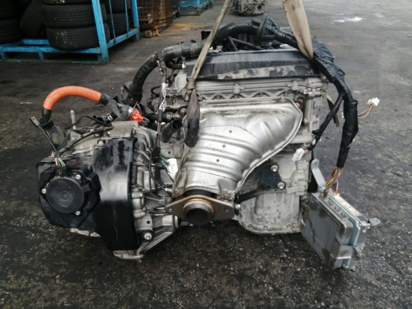 Двигатель Toyota 1NZ-FXE - 3639768 AT P112-01A FF NHW20 коса+комп 4
