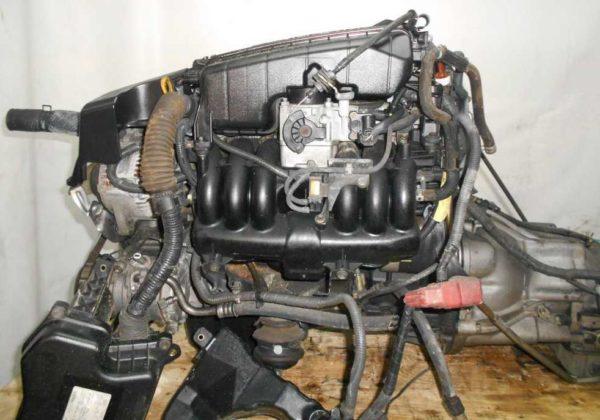 Двигатель Toyota 1G-FE - 7000369 AT 03-70LS A42DE-04A FR GX110 BEAMS 172 300 km коса+комп 1