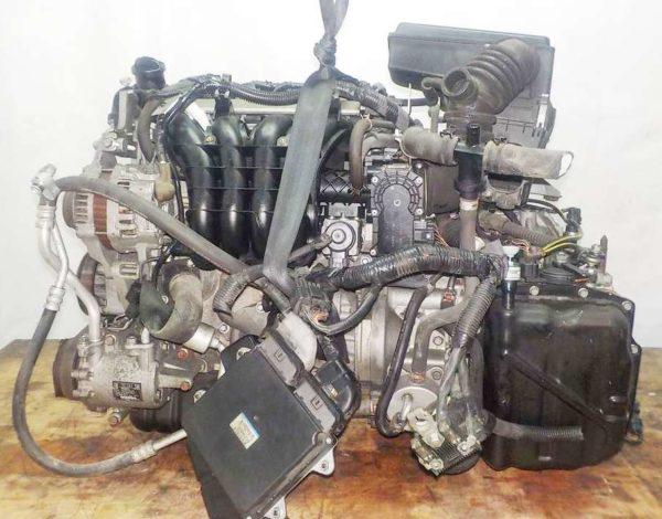 Двигатель Mitsubishi 4A90 - 0064824 CVT F1C1A FF Z21A 66 833 km коса+комп 1