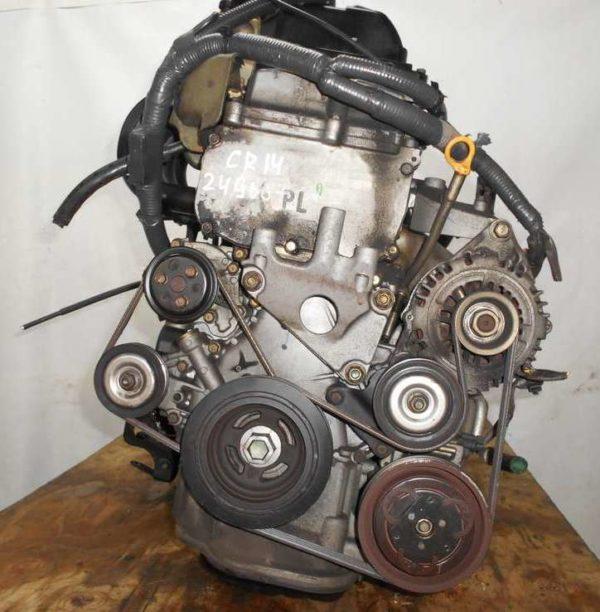 Двигатель Nissan CR14-DE - 249687 AT RE4F03B FF Z11 102 000 km коса+комп 3