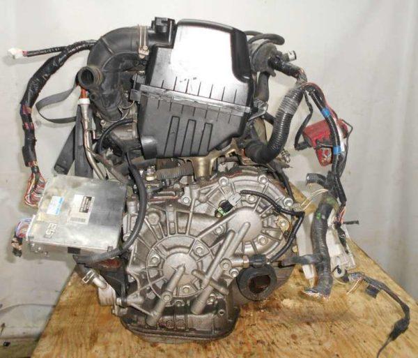 Двигатель Toyota 1NZ-FE - B761654 CVT K210-02A FF NCP81 151 000 km электро дроссель коса+комп 5