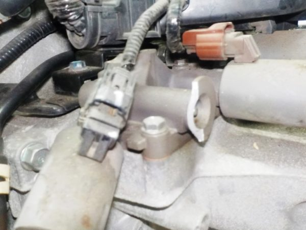Двигатель Honda R18A - 1725194 CVT SXEA FF RN6 111 927 km коса+комп 4