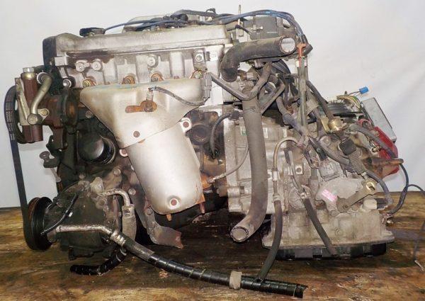 Двигатель Toyota 4E-FE - 2234786 AT A244F FF 4WD коса+комп, брак компа 1